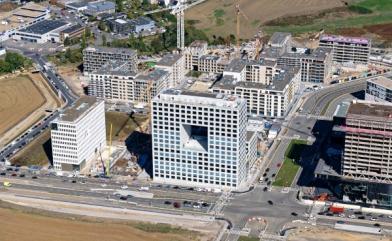 Nouveau siège Deloitte